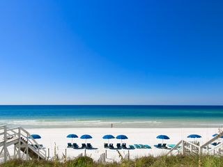 Rosemary Beach house photo - MAIN--Daily Beach Service (From One of Our Gulf-Front Porches)