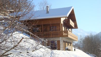 New chalet, apartment level-garden rated 3***,  panoramic views