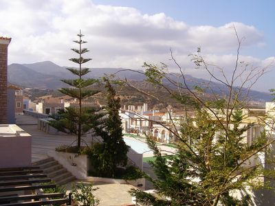 Partial view of the village from the balcony