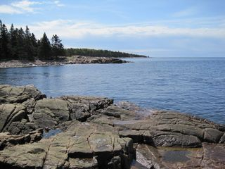 Prospect Harbor cottage photo - shoreline