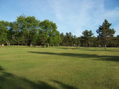 Glenfield cottage rental - An enjoyable public 18 hole golf course is 4 miles away. Bring your clubs!