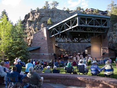 Performance Park amphitheater within walking distance