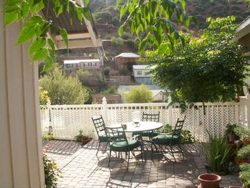 Bisbee house rental - Yard with View of B Hill
