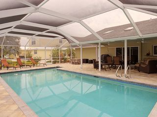 Sanibel Island house photo - Screened heated pool