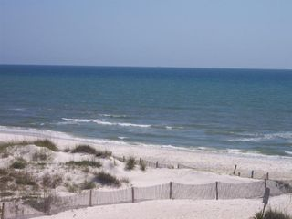 Cape San Blas house photo - View of beach from deck