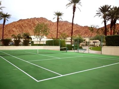 Private tennis court exclusively for Enclave residents and guest