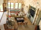 Great room for great gatherings both inside and out! (Note the open air doors)