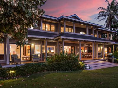 Serene Oceanfront Puako, HOME of the HULA MOON, All Bedrooms have ocean views!