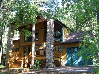Pinetop cabin photo - Ponderosa Lodge Summer