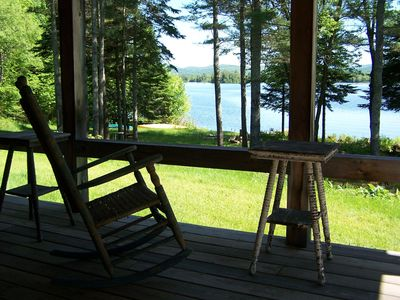 Reservations begin Jan 1, 2018. Post and Beam Off-Grid Solar Home- Lake Umbagog