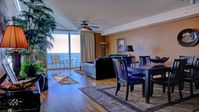 Tidewater 1708- HUGE Gulf Front 2 BR/Sleeps 8 + Free Beach Package- 1,593 sq ft