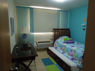 Aguadilla condo photo - 2nd Bedroom- Twin bed with Another twin bed underneath, desk