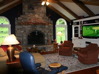 Ludlow house photo - Fireplace, Entertainment Center