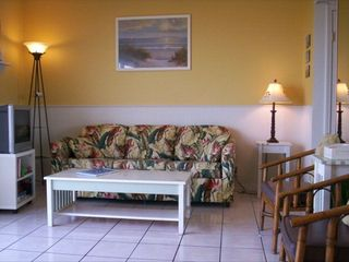 South Padre Island condo photo - Spacious living area.