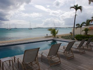 Simpson Bay condo photo - Oceanfront pool
