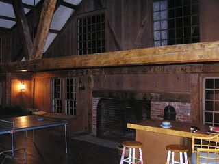 Northport estate photo - Great room in barn!