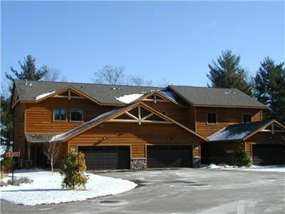 Luxury townhome perfect for any northwoods season.