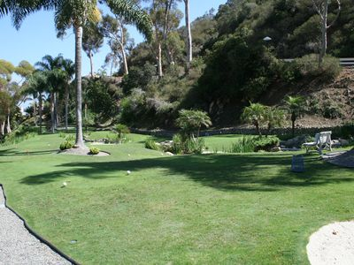 Catalina Island villa rental - 18 hole miniature golf course