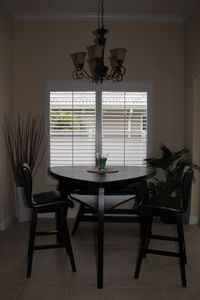Cape Coral villa rental - breakfast table