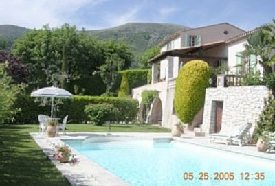 Tourrettes-sur-Loup villa rental - View from Mediterranean aspect