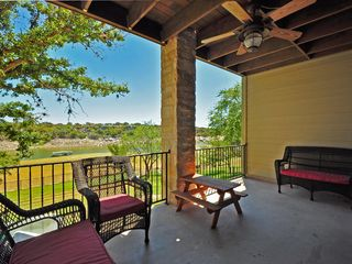 Spicewood house photo - View from one of three covered balconies