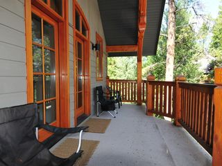 Canmore house photo - Private upstairs balcony, perfect for relaxing