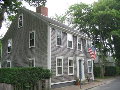 Four Gardner Street off Main Street in the town of Nantucket