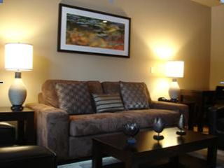 Canmore condo photo - Living Room and Pull out Sofa