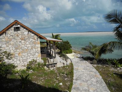 Water-front Bahamian Island Home (See also Boat House - Property ID 3684530)
