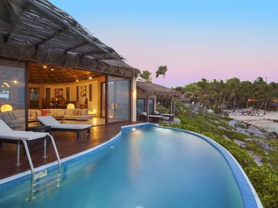 New Ocean Front Beach House In The Heart Of Tulum