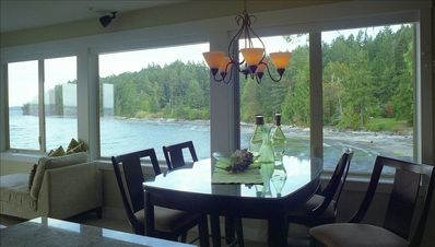 Dining Room looking towards Emerald Bay