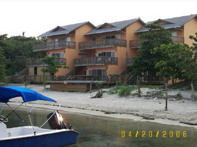 Picture of condo from the beautiful water