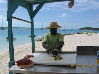 Great Exuma villa photo - You will want to get a conch salad.