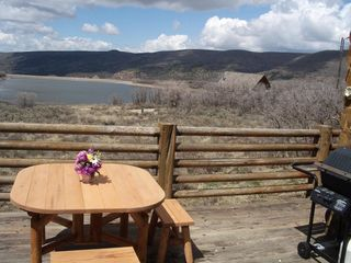 Heber City cabin photo - Enjoy the lake view from most rooms.