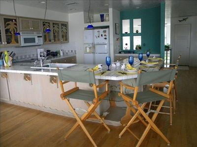 Anna Maria house rental - Breakfast Bar and Kitchen