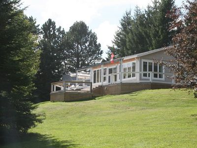 Stanley Bridge cottage rental - Large, private, mature waterfront lot with ...
