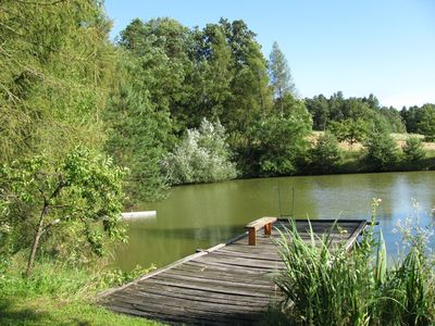 Whole house for you and your loved ones, next to our natural swimming ponds