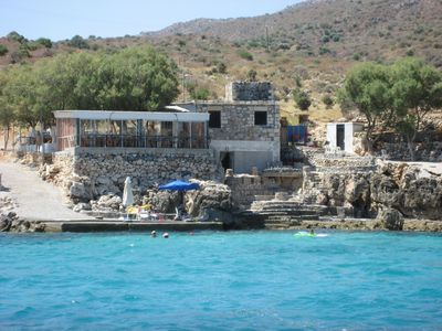 Almirida villa rental - Ideal for snorkling