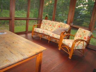 West Tisbury house photo - Screened in porch