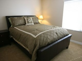 San Diego condo photo - Quality queen bed (another lamp coming)