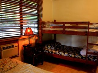 Culebra villa photo - Ground Level Apartm.Bdrm. #2, Full Size Bed & Twin beds (+ avail.folding bed)..