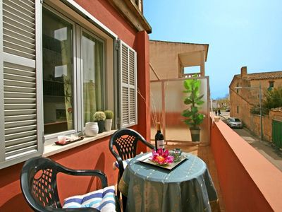 Nice apartment with terrace, 2 bedrooms, central location