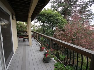 Berkeley apartment photo - Large view deck for your private enjoyment