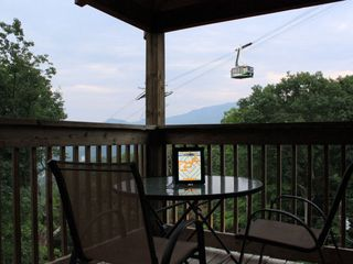 Gatlinburg cabin photo - This view is also available from the hot tub. Wi-fi works here too!