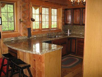 Jackson Hole cabin rental - Watch wild life as you cook!
