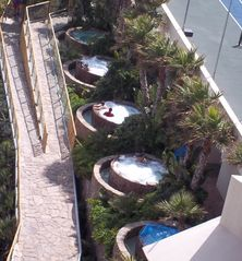 Rosarito Beach condo photo - Jacuzzi row