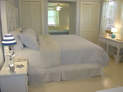 "Charming Master Suite & Ajoining Twin Bedroom "" Nook""."