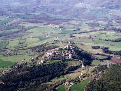 Montecastelli from air