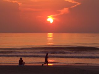 St. Augustine Beach condo photo - You gotta get up early... but it's worth it.