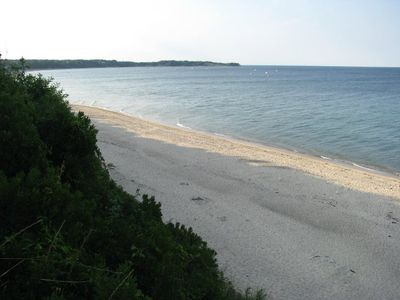 View of private beach from Manomet Bluffs